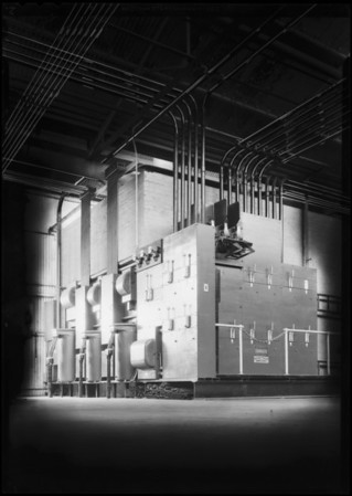 Switch installation at Boyle Manufacturing Co., Southern California, 1931