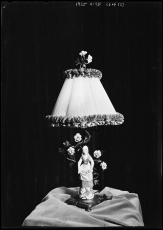 Towe & Pettibone lighting standards & fixtures, Southern California, 1925