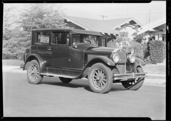 Buick, L.F. Lawrence, Southern California, 1931