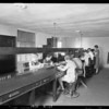 Switchboard at Crown Hill, Yellow Cab Company, Southern California, 1925
