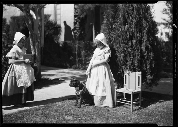 Children and Parfay, Southern California, 1931