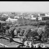 Westlake park looking West, Los Angeles, CA, 1931
