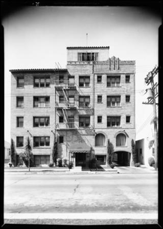 Apartment buildings, California Reserve Co., Southern California, 1931