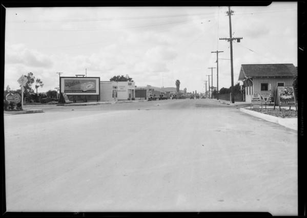 West Central Avenue, La Habra, CA, 1931