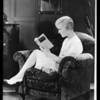"""Laura La Plante & book """"Show Boat"""", Southern California, 1929"""
