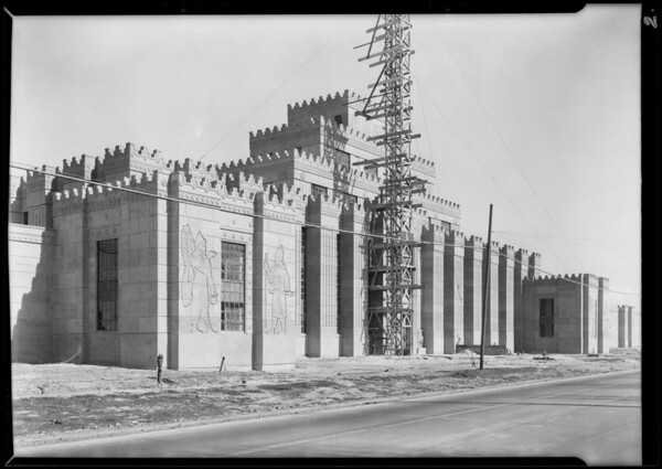 Industrial buildings adjacent to Midwick View Estates, Southern California, 1930