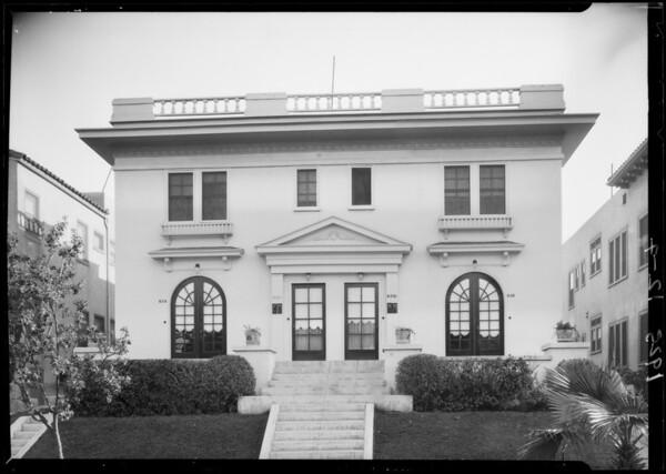 826 South Normandie Avenue, Los Angeles, CA, 1925