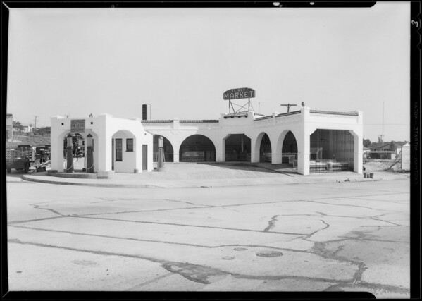 Market on Highland Avenue, View Heights, Southern California, 1930
