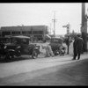 Accident at Olympic Boulevard & South La Brea Avenue, Los Angeles, CA, 1931