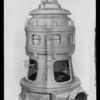 Drawing of pump, Southern California, 1930