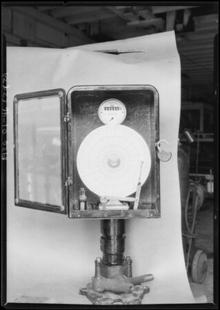Meters for Mr. Sparling, Southern California, 1926