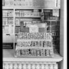 Candy display in Safeway store, 5833 South Main Street, Los Angeles, CA, 1929