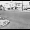 Intersection of West 49th Place & South Figueroa Street, Los Angeles, CA, 1929