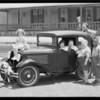 Car & 'Our Gang', Southern California, 1930