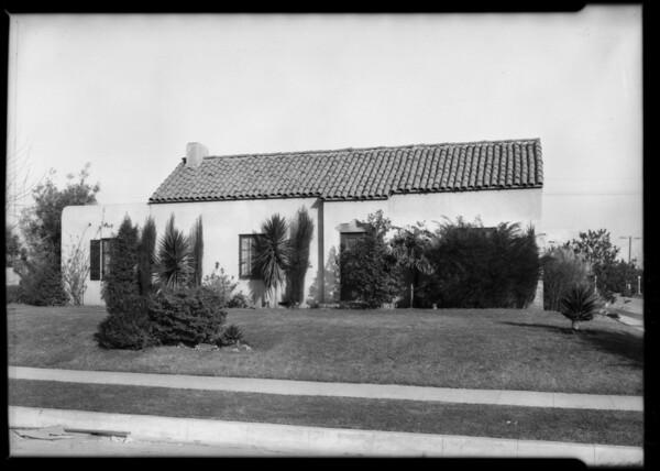900 North Orlando Avenue, West Hollywood, CA, 1926