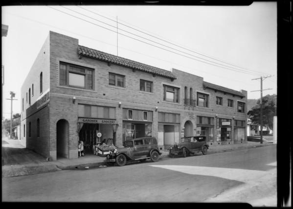 Stores - 1515 1/2 North Gardner Street, Los Angeles, CA, 1930