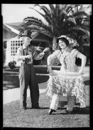 Old time dancers, etc., Southern California, 1931