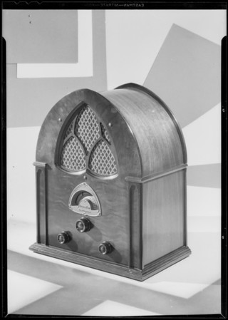 Table model, Atwater Kent Radio, Southern California, 1931