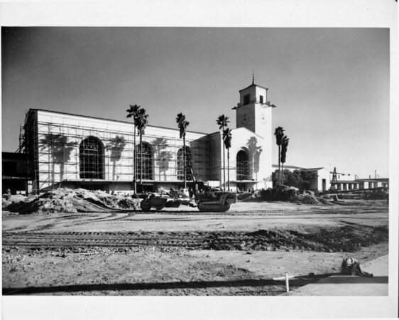 Union Station under construction