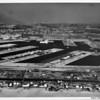 Aerial view of Marina Del Rey looking east
