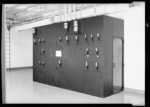 Installation at Associated Telephone Co., Long Beach, CA, 1931