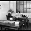 Department shots, National Auto School, Southern California, 1929
