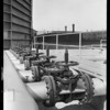 Valve installations at Gas Co., West Slauson Avenue & South Western Avenue, Merco Nordstrom Valve Co., Los Angeles, CA, 1931