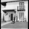 Front door to 3666 Aureola Boulevard, Los Angeles, CA, 1929