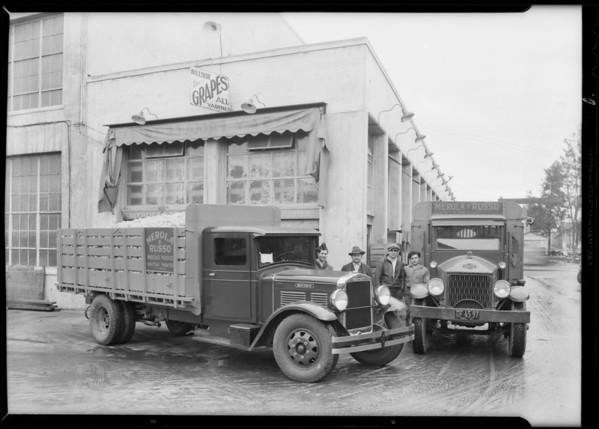 Merola & Russo truck, Southern California, 1931