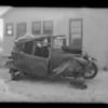 Intersection, North Parish Place and West Victory Boulevard, Hamilton versus Larkin, Burbank, CA, 1931