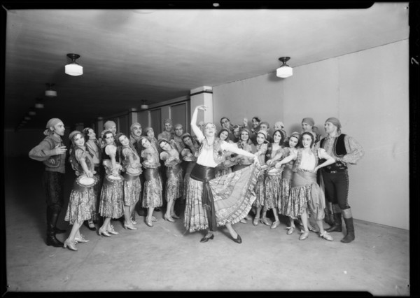Dracula stage show, Southern California, 1931