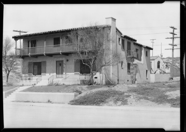 7804 Vista Del Mar, Los Angeles, CA, 1929