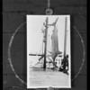 Large swordfish, Southern California, 1931