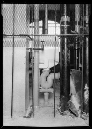County Hospital (bed pan sterilizers), Los Angeles, CA, 1931