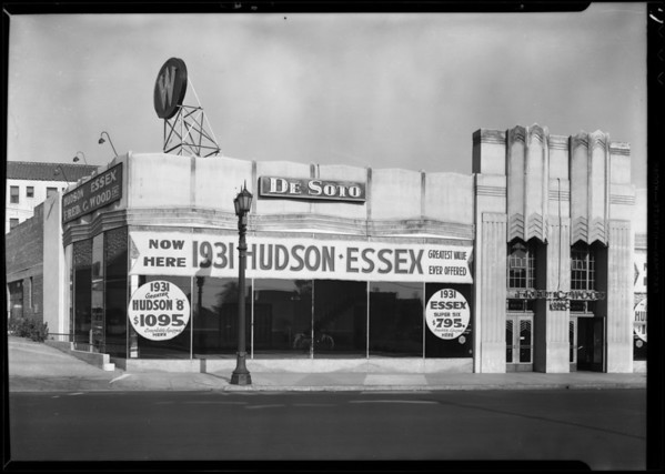 Fred Woods Building, Southern California, 1931