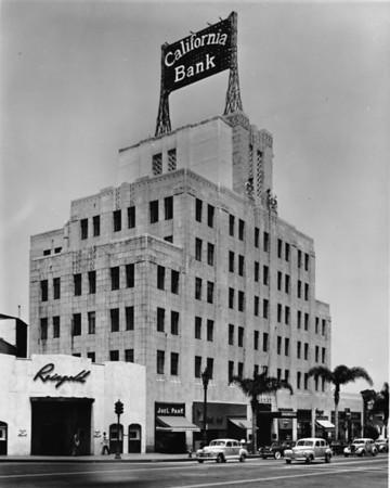 California Bank, Warner Brothers, Reingold, Juel Park