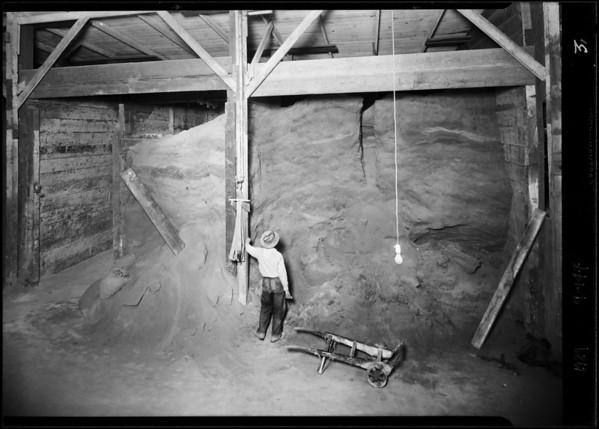Interior of plant, Pacific Guano Fertilizer Co., Southern California, 1929
