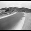 Highway near Palmdale, Southern California, 1929