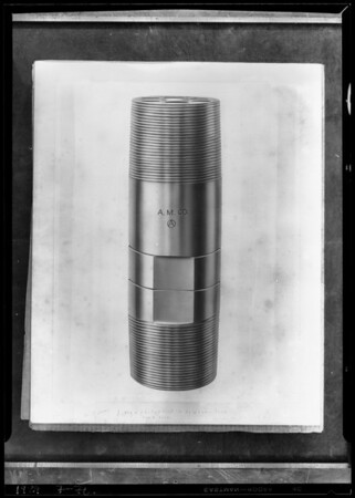 Copy of threaded, Axelson Machine Works, Southern California, 1929