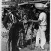 Olvera Street shoppers