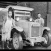 L.A. Creamery, photographs of workers, East 12th Street and Towne Avenue, Los Angeles, CA, 1925