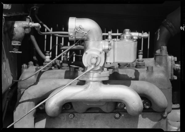Carburetor on Ford, Trusler Carburetor Co. Ltd., Southern California, 1931