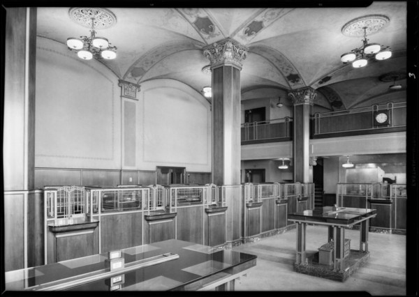 Branch at 101 South Brand Boulevard, Glendale, Security-First National Bank, CA, 1931