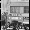 Crowd at opening of store, Southern California, 1931