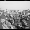 Traffic at Wilshire Boulevard and South Western Avenue, Los Angeles, CA, 1930