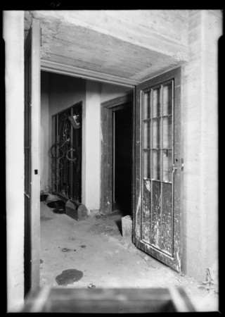 Elevator shaft, Edison Co. building, Southern California, 1931