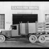 Chevrolet 6 wheel truck, Southern California, 1929