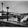 Los Angeles Memorial Sports Arena, exterior view, main entrance