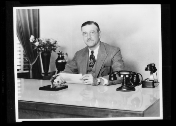 Retake of Mr. Haskell, Stock & Realty Assurance Corporation, Southern California, 1929
