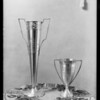 Prize cups belonging to Pellissier & Sons, Southern California, 1925